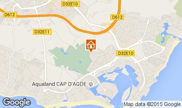 Karte Cap d'Agde Appartement 31825