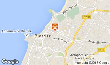 Karte Biarritz Appartement 92285