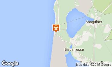 Karte Biscarrosse Appartement 80894