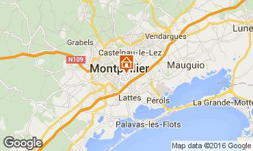 Karte Montpellier Studio 102338