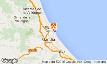 Karte Gandia Appartement 64450