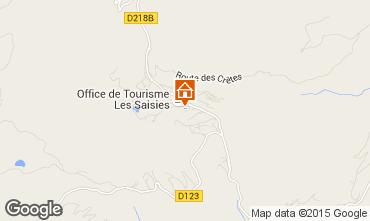 Karte Les Saisies Appartement 65900