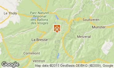 Karte La Bresse Hohneck Chalet 4543