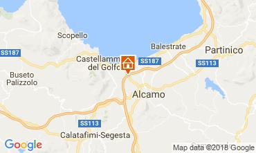 Karte Castellammare del Golfo Villa 111636