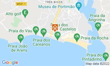 Karte Praia da Rocha Appartement 47824