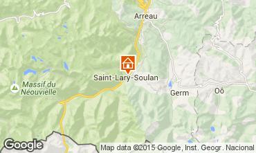 Karte Saint Lary Soulan Appartement 19638