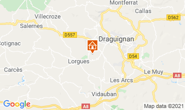 Karte Draguignan Mühle 86770