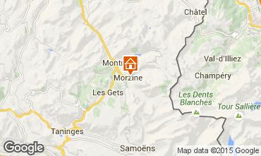 Karte Morzine Appartement 42696