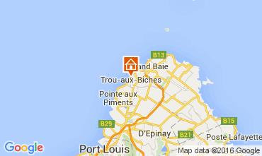 Karte Trou-aux-biches Appartement 82122