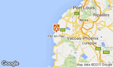 Karte Flic-en-Flac Appartement 92580