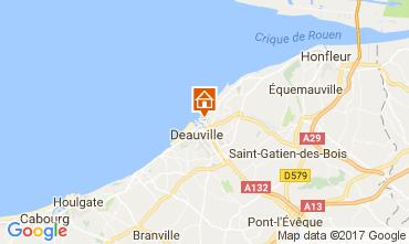 Karte Trouville sur Mer Appartement 112240