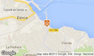 Karte Dénia Appartement 68366