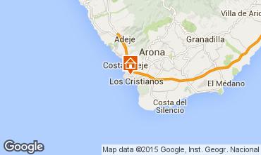 Karte Los Cristianos Studio 77464