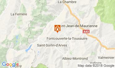 Karte La Toussuire Chalet 52378