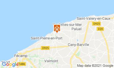 Karte Etretat Chalet 86314