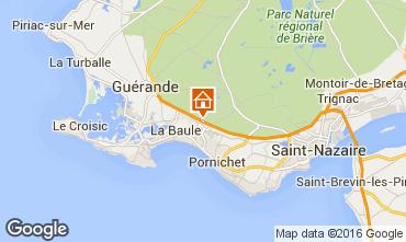 Karte La Baule Mobil-Home 97231