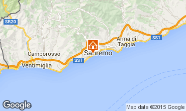 Karte Sanremo Appartement 100261