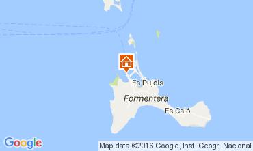 Karte Formentera Appartement 106437