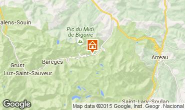 Karte La Mongie Appartement 29930