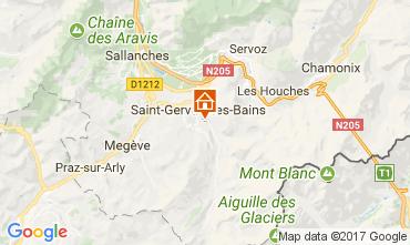 Karte Saint-Gervais-les-Bains Chalet 2562