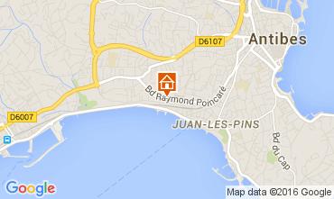 Karte Juan les Pins Studio 53724