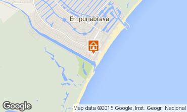 Karte Empuriabrava Appartement 60216