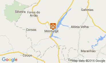 Karte Ponte de Sor Ferienunterkunft auf dem Land 103665