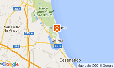 Karte Milano Marittima Appartement 105773