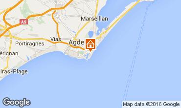 Karte Cap d'Agde Studio 68521