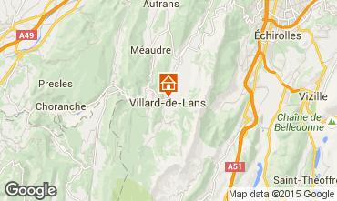 Karte Villard de Lans - Corrençon en Vercors Appartement 32977