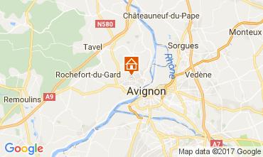 Karte Avignon Haus 107306