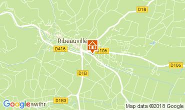 Karte Ribeauvillé Ferienunterkunft auf dem Land 113164