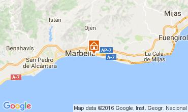Karte Marbella Appartement 100764