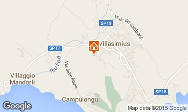 Karte Villasimius Appartement 60425