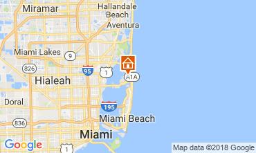 Karte Miami Beach Villa 115572