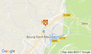 Karte Bourg Saint Maurice Appartement 112634