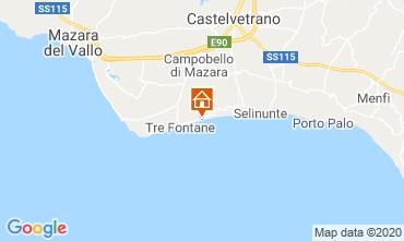 Karte Tre Fontane Villa 92036
