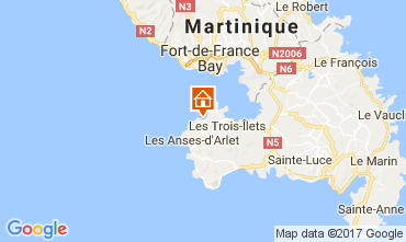 Karte Trois Ilets Studio 111190