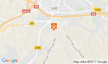Karte Aix en Provence Appartement 112710