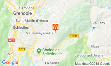 Karte Chamrousse Appartement 116984