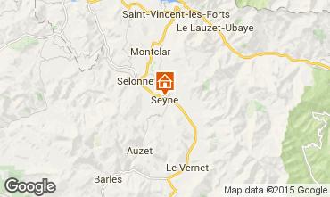 Karte Seyne les Alpes Haus 568