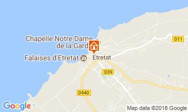 Karte Etretat Haus 113628