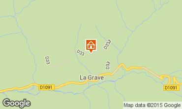 Karte La Grave - La Meije Appartement 74724