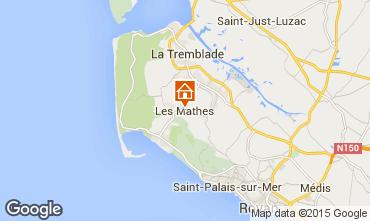 Karte Les Mathes Mobil-Home 96435
