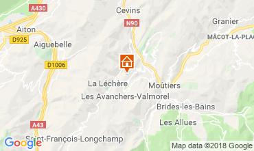Karte Doucy Combelouvière Appartement 116985
