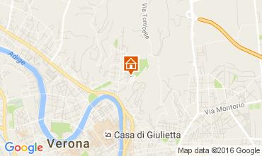Karte Verona Appartement 89824