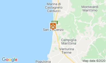 Karte San Vincenzo Appartement 113255