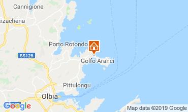 Karte Golfo Aranci Villa 61414