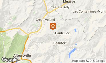 Karte Les Saisies Studio 74167