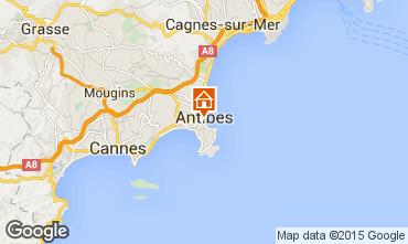 Karte Antibes Studio 98215